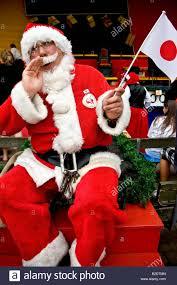 the japanese santa claus shouting ho ho ho at the world santa