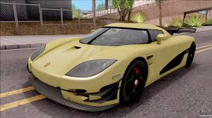 Koenigsegg Ccx For Gta San Andreas