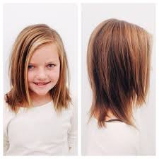 medium length hair cut for little kids and things