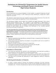 resume format for ojt resume for your job application