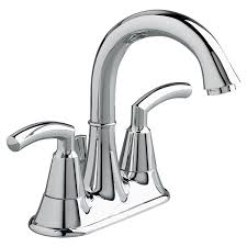 tropic 2 handle 4 inch centerset high arc bathroom faucet