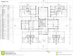 floor plan of the kindergarten stock photo image 35140920