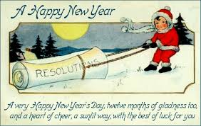 news years cards sue s news and reviews new year s resolutions