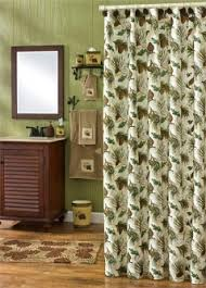 Adirondack Shower Curtain by Pinecone Bathroom Decor Accessories For Lodge Or Cabin Cabin Place