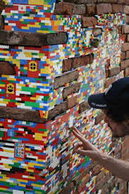 59 best lego street art images on pinterest urban art legos and german artist jan vormann travels around the world and restores crumbling architecture using lego blocks in his work titled dispatchwork vormann has spent
