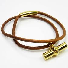 leather gold necklace images Brandvalue rakuten global market hermes hermes choker necklace jpg