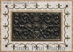 Medallions For Backsplash Our Floral Tile And Thin Liners In - Tile mosaic backsplash
