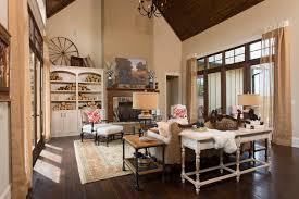 southern style living rooms 2013 southern living custom builder showcase home rustic