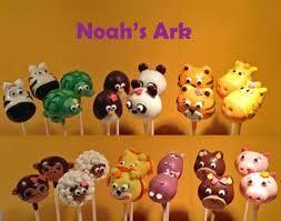 noah u0027s ark animals cake pops animal u0026 insect pops pinterest