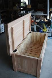 Build A Toy Box Bench by