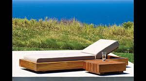 Modern Wood Patio Furniture Modern Wood Outdoor Furniture Youtube