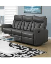 Reclining Leather Armchairs Amazing Deals On Gray Leather Sofa