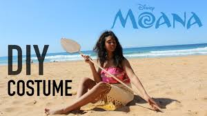 Beach Halloween Costume Ideas Diy Easy Sew Moana Costume Disney Princess Cosplay Halloween