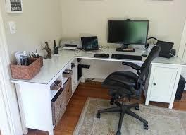 pink gold black and gold office l shaped office deskl shaped