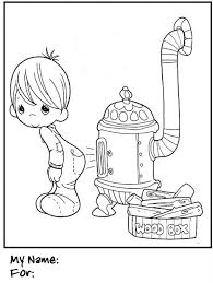 coloring pages for kids precious moments boy firewood wood stove