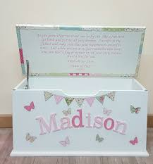 Create Your Own Toy Chest by Patchwork Toy Box Dreambox Customised Childrens Boxes