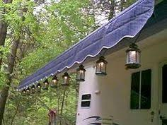 rv awning lights exterior solar lights designed to hang on awnings umbrellas or canopies