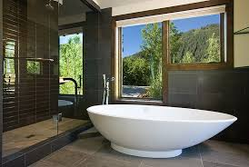 Modern Master Bathroom Designs Modern Master Bath Colorado Decorative Materials