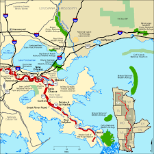 louisiana highway map great river road great river road in louisiana south