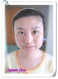 hairstyles fow women with wide chin square face free style