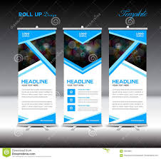 layout banner template design layout banner fresh blue roll up banner template stand