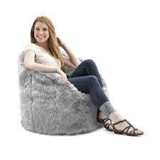Big Joe Bean Bag Chair Orange Comfort Research Big Joe Original Milano Shag Bean Bag Chair In
