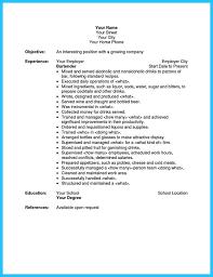 waiter resume manager resume example resume example choose best