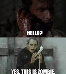 Dead Phone Meme - boring conversation anyways the walking dead the walking dead