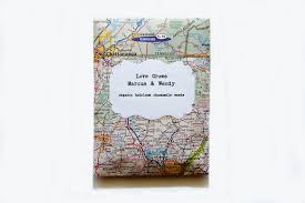 Map Favors by Inspired Weddings Travel Themed Wedding Invitations And Paper From