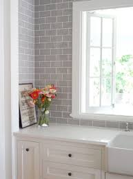 Backsplash In White Kitchen Kitchen White Kitchen Tiles Ideas White Kitchen Grey Backsplash