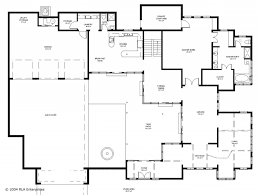 floor plans for retirement homes looks wheelchair accessible with