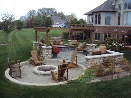 Gravel Fire Pit Area - 9 inspiring in ground fire pit designs and ideas outdoor fire