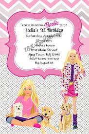 the 25 best barbie invitations ideas on pinterest barbie