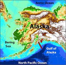 Map Of Southeast Alaska by Seward Line Monitoring Reveals Warmer Gulf Of Alaska Alaska