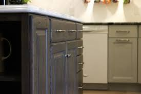 gray stained kitchen cupboards painted vs stained cabinets 7 things to consider