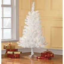 white tree from walmart decor