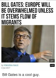 Overwhelmed Memes - bill gates europe will be overwhelmed unless it stems flow of