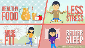 how to be single and happy 12 steps with pictures wikihow