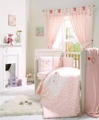 Nursery Cot Bed Sets by Pink Lemonade 5 Piece Cot Cotbed Bedding U0026 Curtains Set Pink