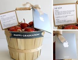 graduation gift baskets graduation gifts apple gift basket evite