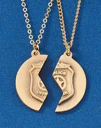 academy graduation gift sheriff gifts 25 mizpah pendants