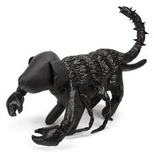 scorpion halloween dog costume black with same day shipping