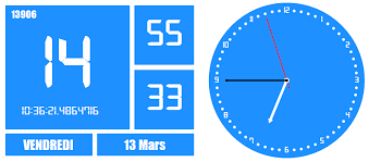 horloge bureau windows 7 time2015 i media