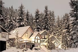 winter dream make a color pencil sketch from a photo