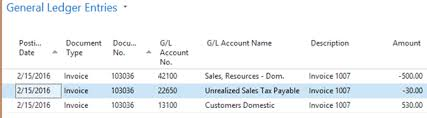 sales tax invoice dynamics nav 2016 unrealized sales tax for cash based companies