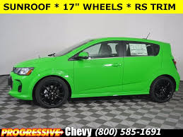new 2017 chevrolet sonic premier 5d hatchback in massillon c70437