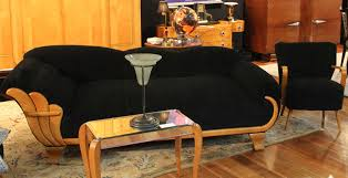 furniture luxury black lounge sofa art deco furniturematched with