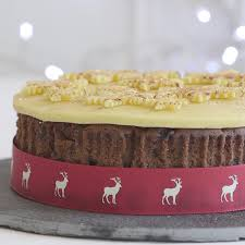 Cake Decoration Ideas At Home with Easy Christmas Cake Woman And Home