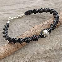 men braided leather bracelet images Mens leather bracelets leather bracelets for men at novica jpg