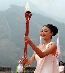 """来自云南的亚运会采火""""圣女"""":康辰晨组图 - 喜欢吃桃子 - wangyufeng的博客"""